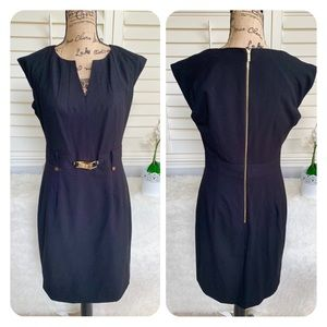 Calvin Klein Black gold buckle professional dress